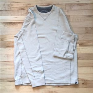 Eddie Bauer waffle knit long sleeve shirt